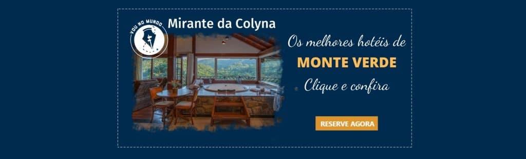 Pousada Spa Mirante da Colyna em Monte Verde, MG.