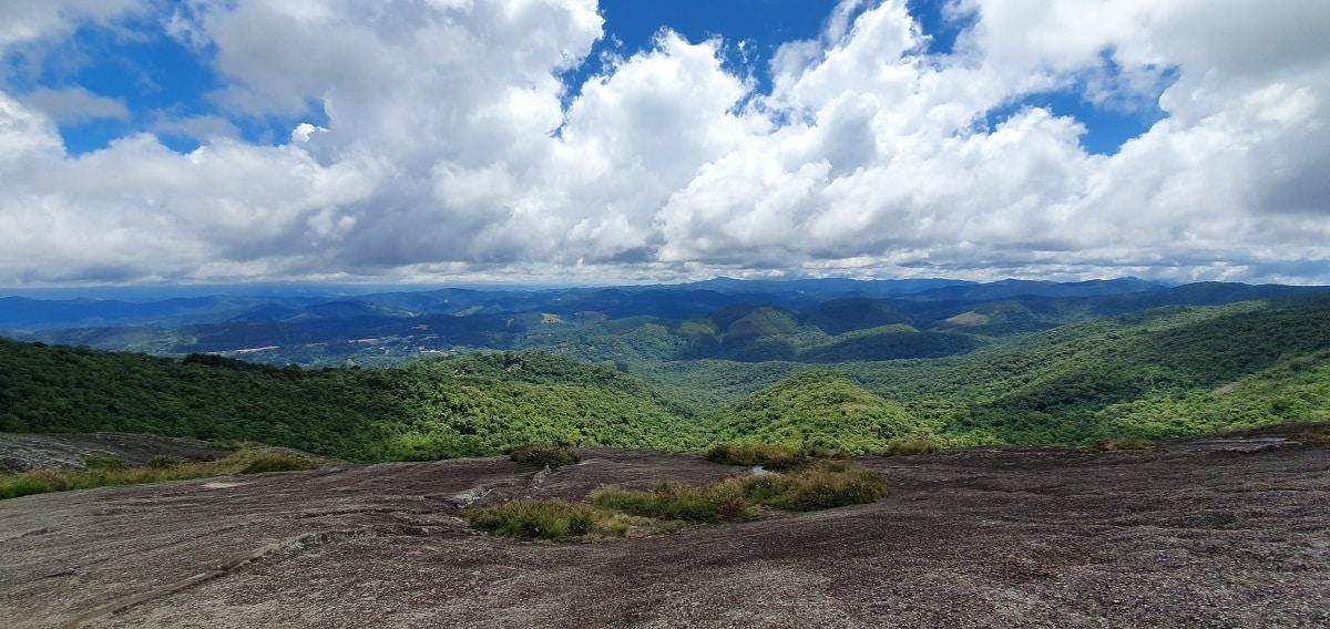 Topo da Pedra Redonda em Monte Verde.