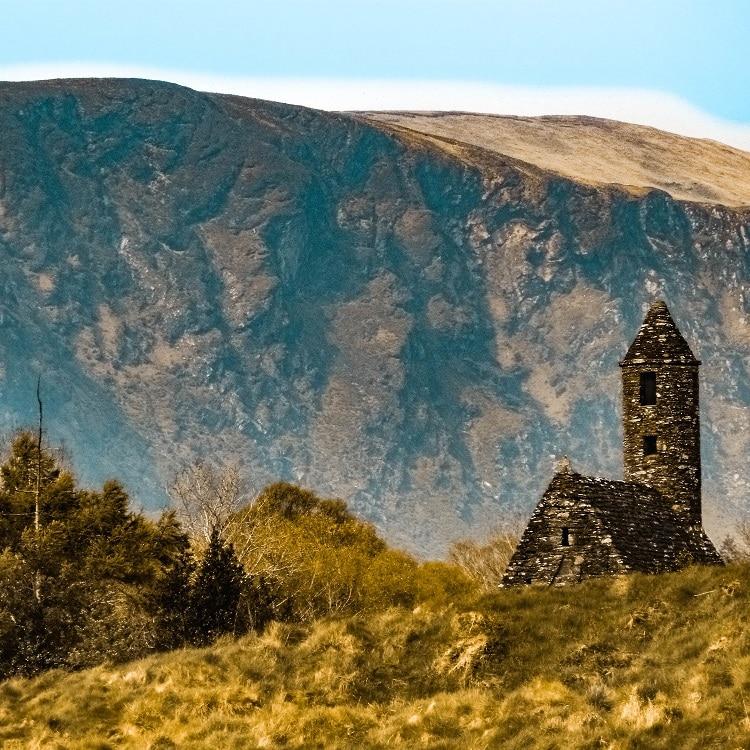 Glendalough em Wicklow.
