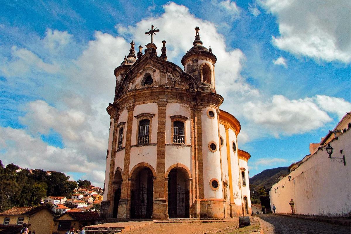 Igreja em Ouro Preto, MG