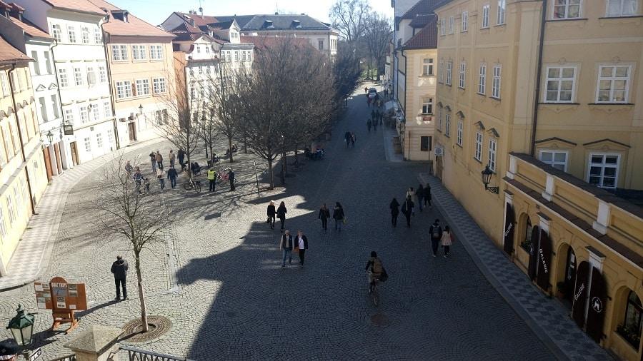 Kampa em Praga.
