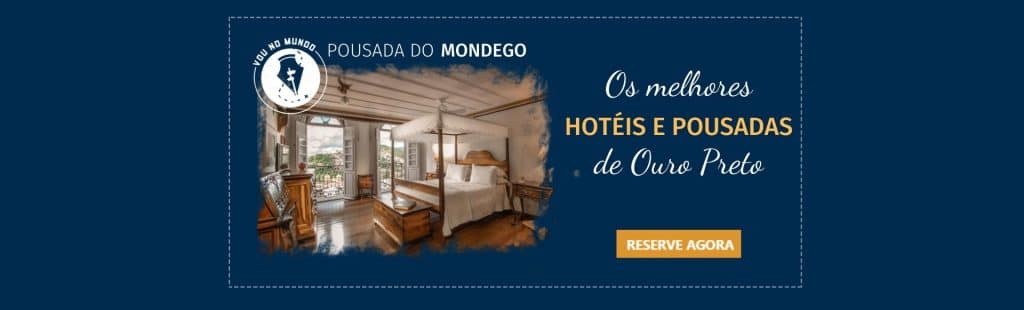 Pousada do Mondego em Ouro Preto.