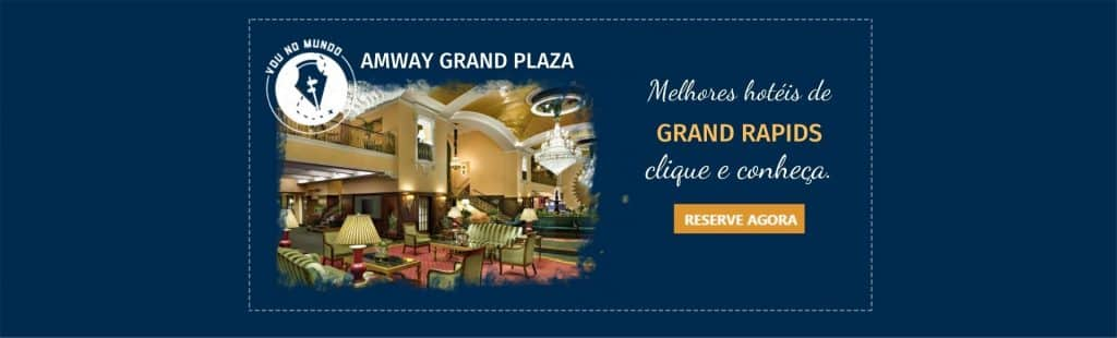 Amway Grand Plaza em Grand Rapids.