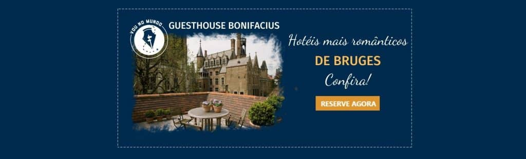 Hotel Guesthouse Bonifacius em Bruges, na Bélgica.