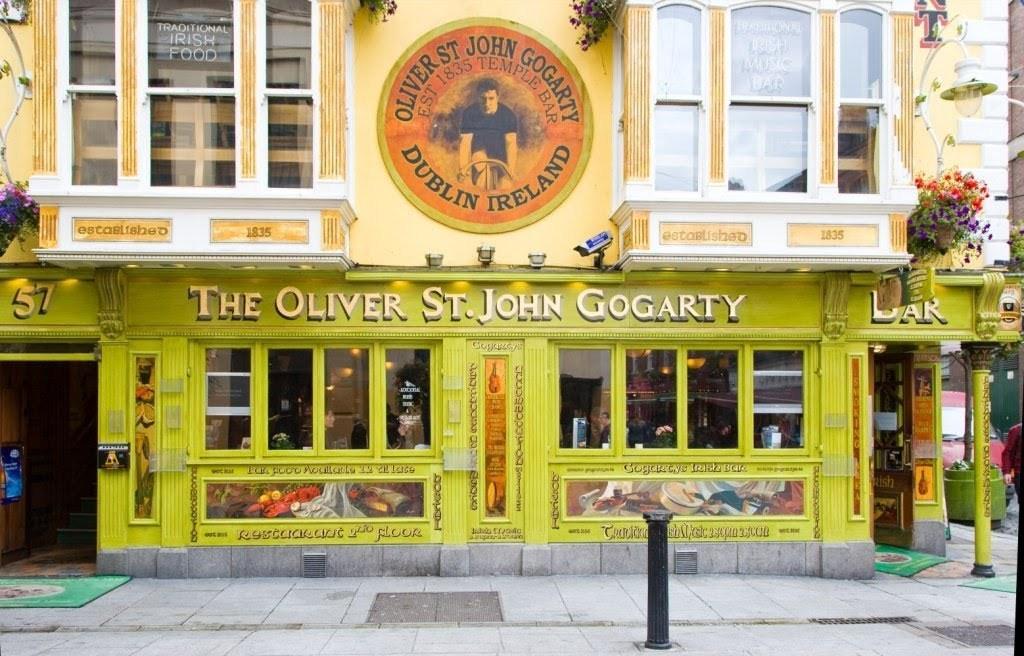 Hostel Oliver St. John Gogarty em Dublin.