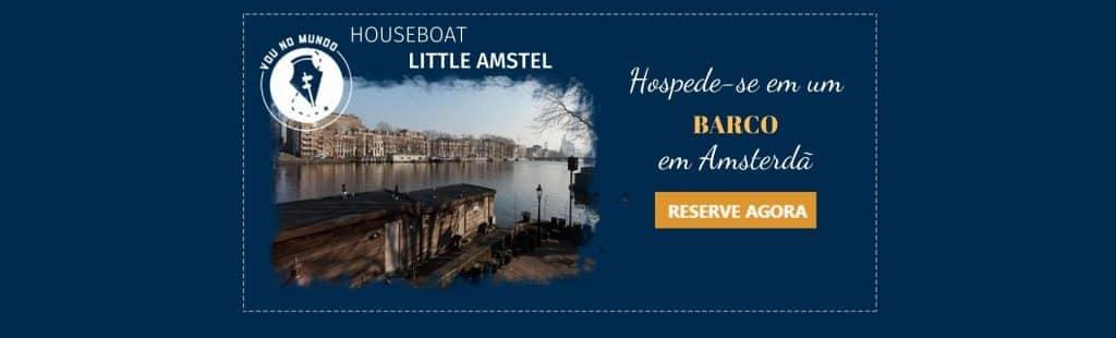Houseboat Little Amstel em Amsterdã
