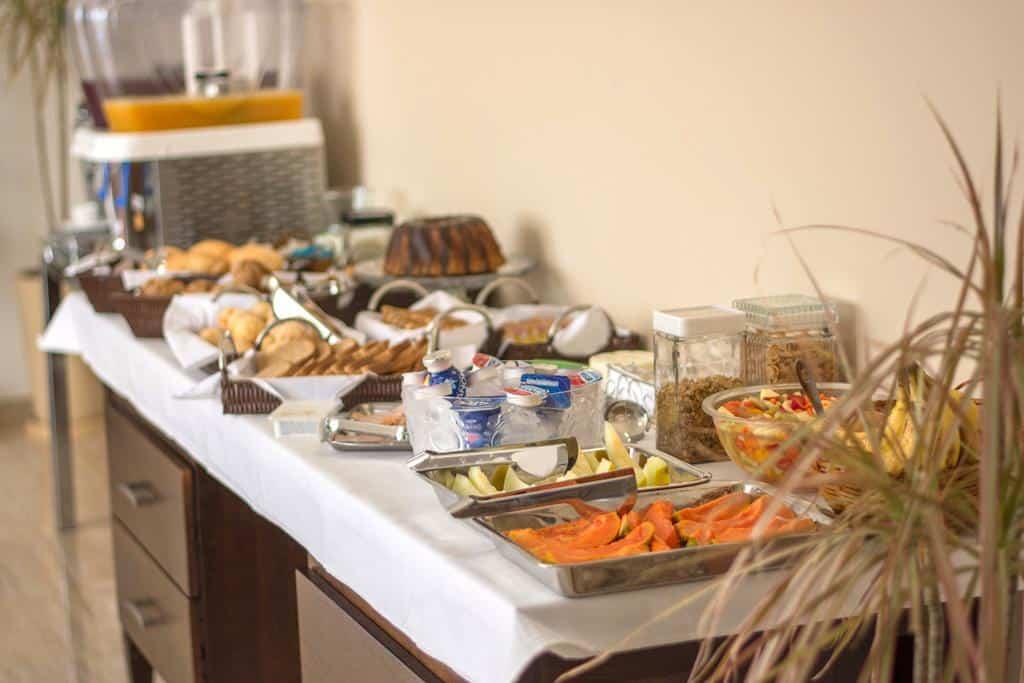 Café da manhã na Pousada Serra Nascente do Sol em Espírito Santo do Pinhal