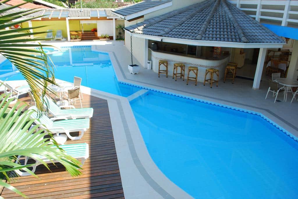 Ciribaí Praia Hotel em na praia de Pauba, São Sebastião. Viagem para casal em São Paulo.