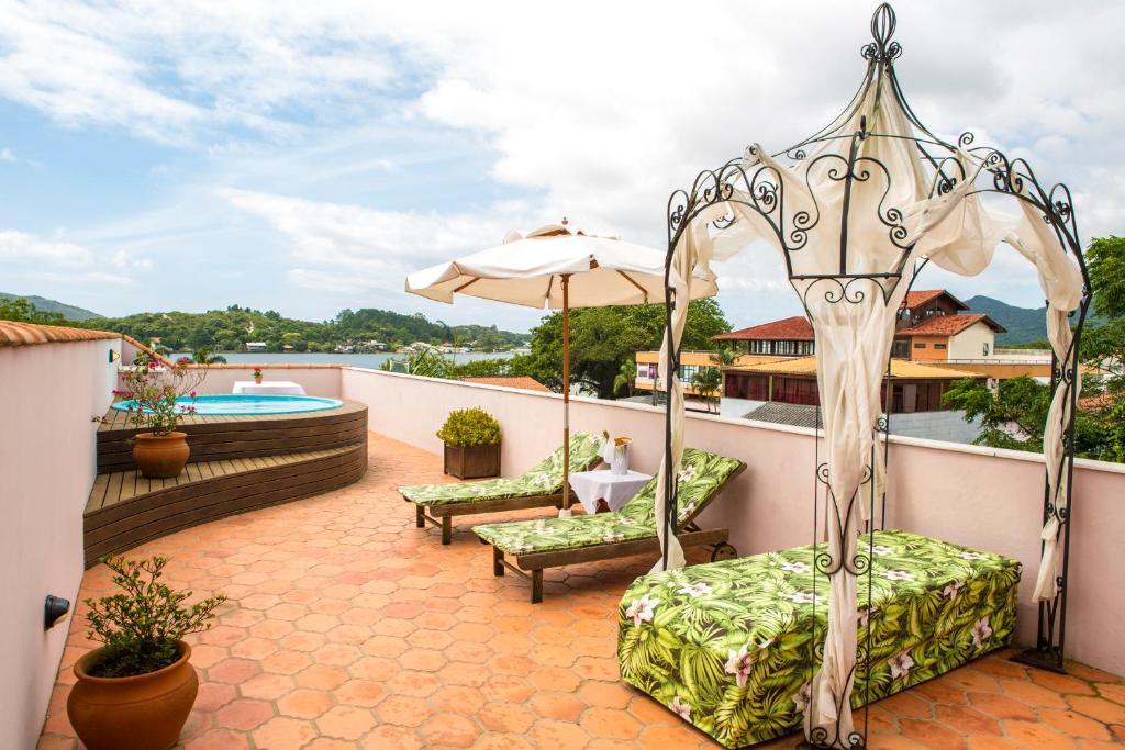 Hotel Boutique Quinta das Videiras em Florianópolis.