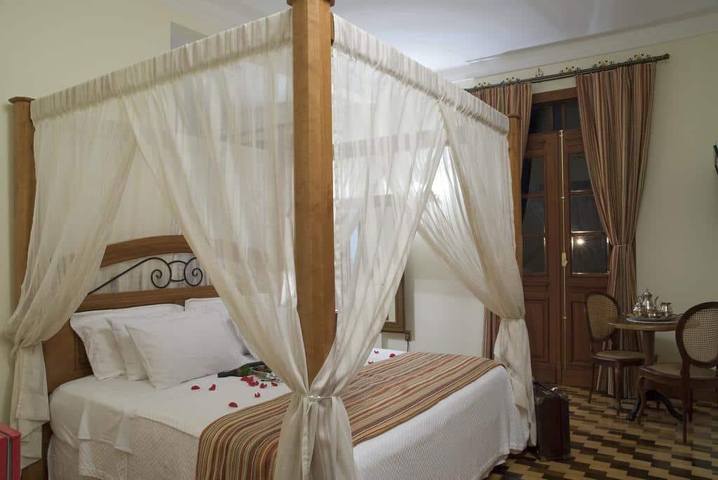 Quarto do Hotel Boutique Quinta das Videiras em Florianópolis - SC.