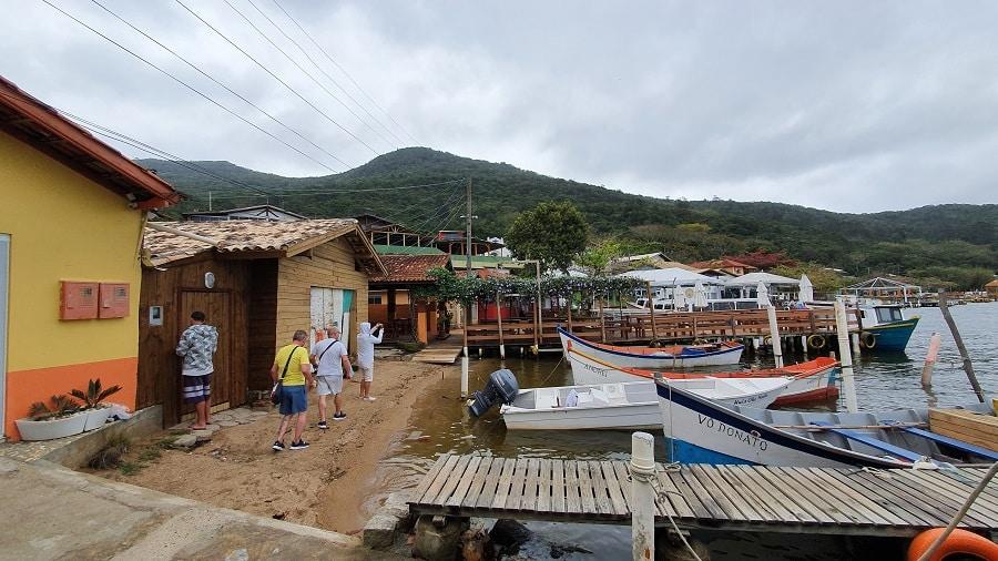 A Costa da Lagoa, em Florianópolis.