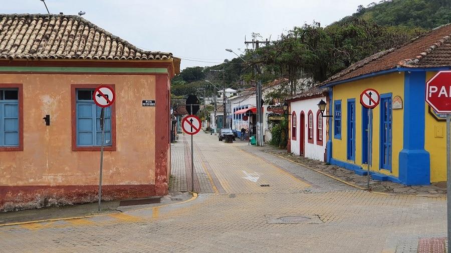 Rua de Santo Antônio de Lisboa, em Florianópolis.