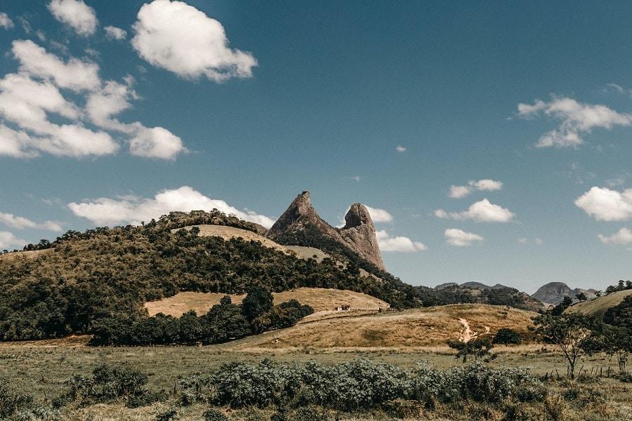 Frade a a Freira, nas Montanhas Capixabas, Espírito Santo.