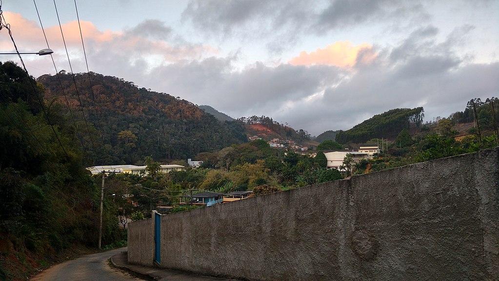 As montanhas de Santa Teresa, no Espírito Santo.