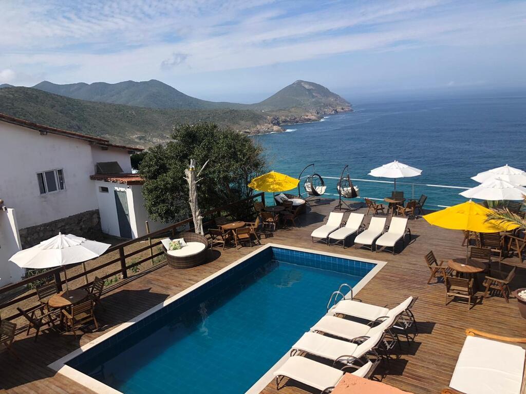 Pousada Vista Turquesa, em Arraial do Cabo, RJ.