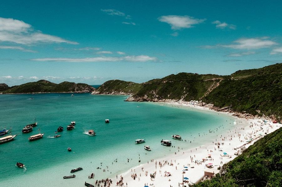 Arraial do Cabo, no Rio de Janeiro.
