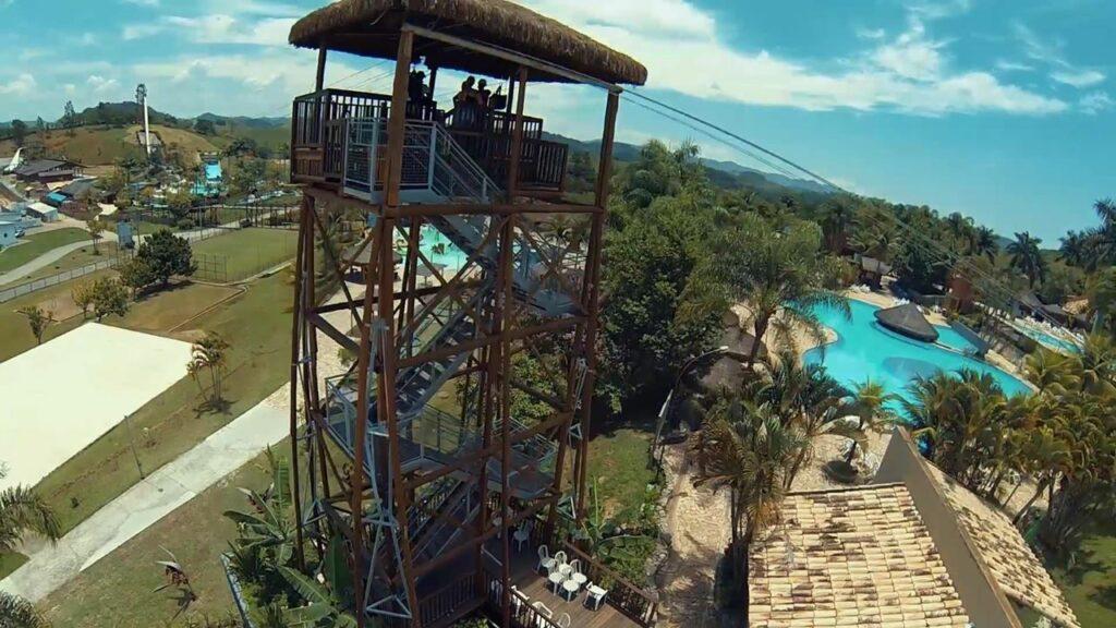 Aldeia das Águas Park Resort em Barra do Piraí, no Rio de Janeiro