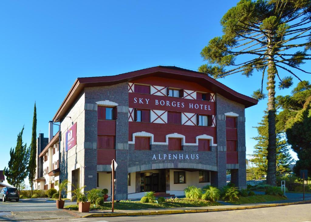 Hotel Sky Borges Alpenhaus em Gramado