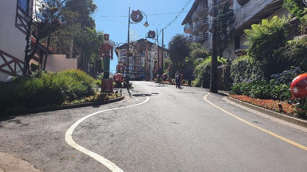 Rua Torta em Gramado.